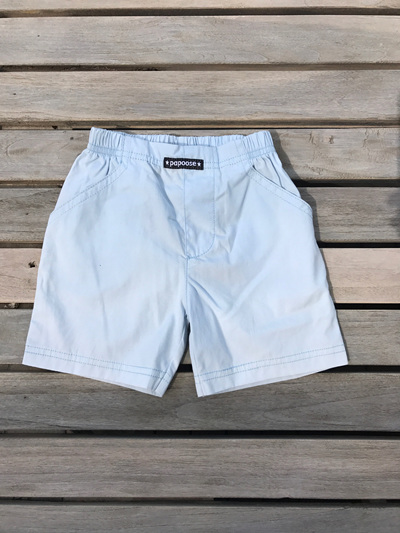 light blue Papoose shorts