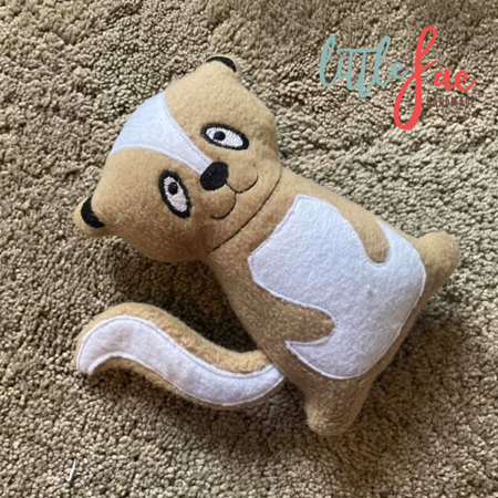 Light Brown Skunk Soft Toy