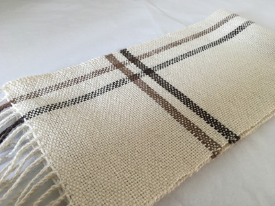Light Fawn Woven Scarf