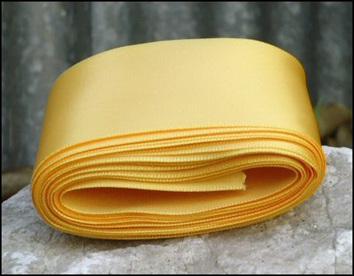 Light Gold Wedding Car Ribbon