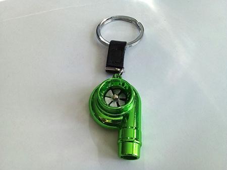 Light Green Turbo Key Ring