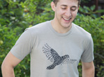 Light Grey Men's Kaka T-shirt