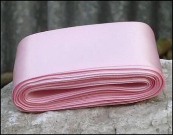 Light Pink Wedding Car Ribbon