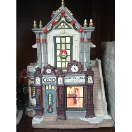 Light Up Watch and Clock Shop