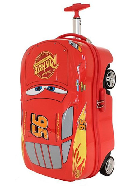 LIGHTNING MCQUEEN ON-BOARD TROLLEY CASE Out of Stock