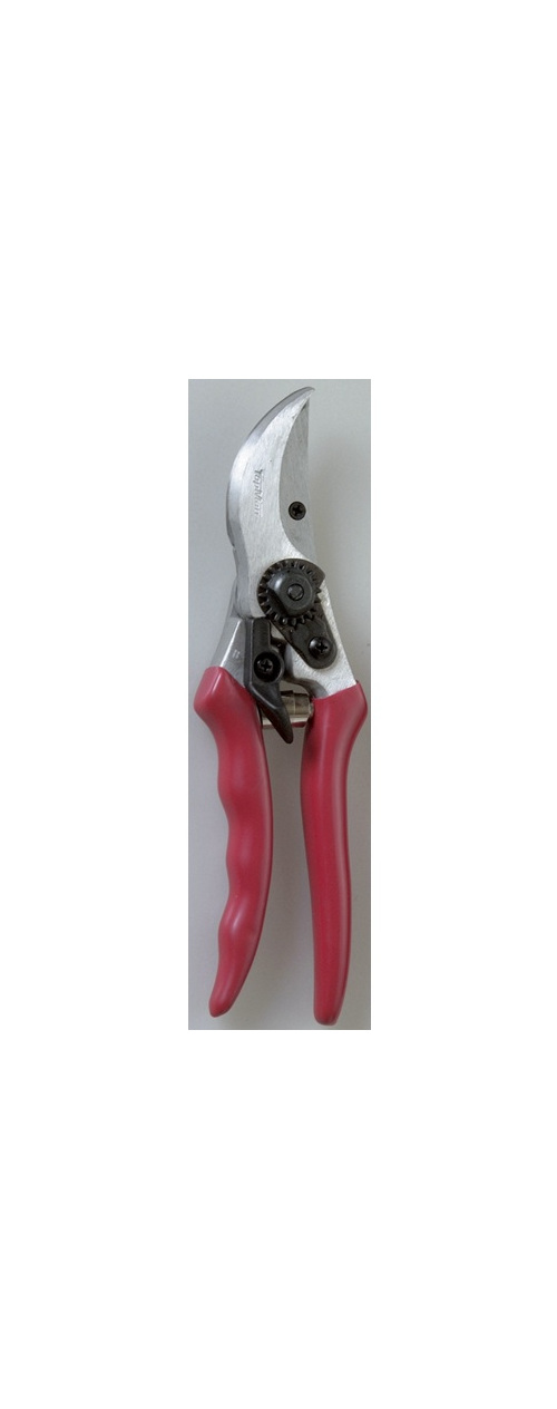 Lightweight bypass secateurs for garden and light orchard work.