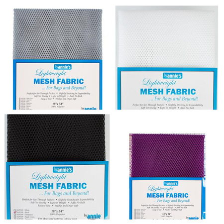 Lightweight Mesh Fabric (Multiple Colours Available)