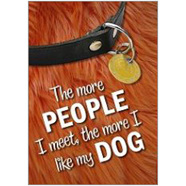 Like Dog Fridge Magnet