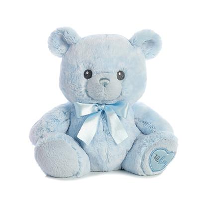 Lil' Boy the Baby Safe Plush Blue Teddy Bear by Aurora