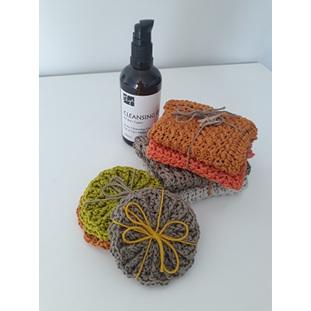Lil faye crochet - Crochet Face Cloths & Face Scrubbies