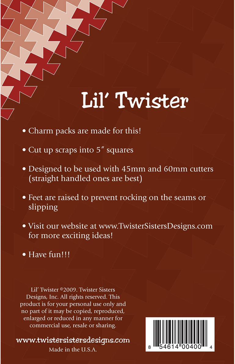 Lil' Twister from Twister Sister Designs