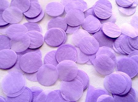 Lilac confetti