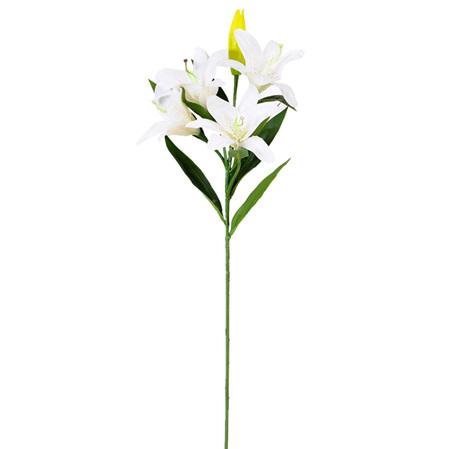 Lily Oriental Stem White 4359