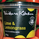 Lime & Lemongrass cooking paste 250g