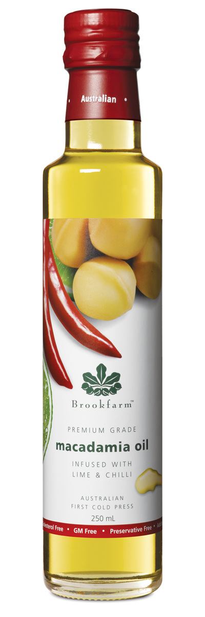 Lime & Chilli Infused Macadamia Oil - 250ml