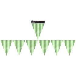 Lime Green Flag Banner 12ft