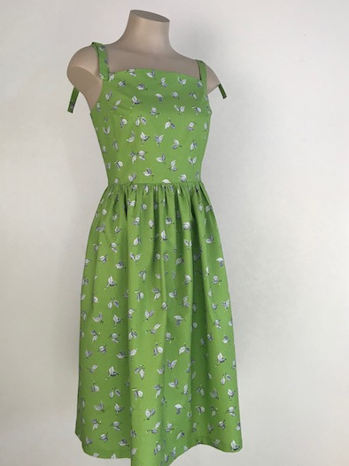 Lime tree sundress