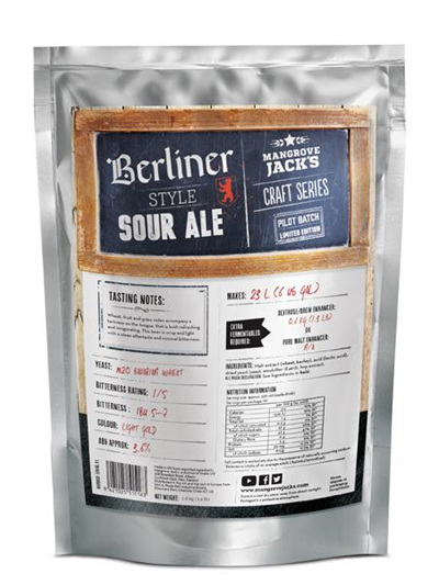 Limited Edition Berliner Style Sour Ale