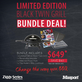 Limited Edition Black Twin Grill Bundle Deal