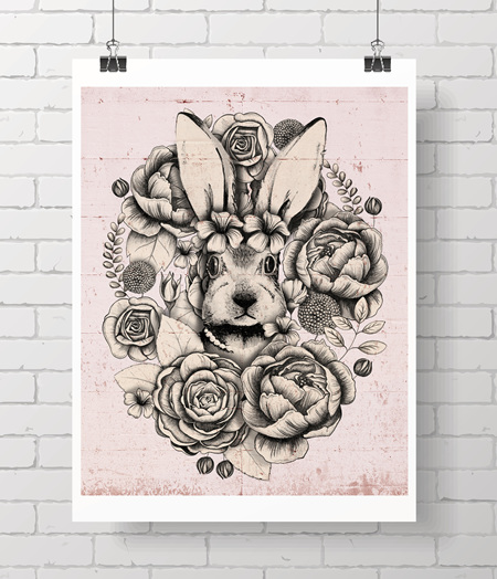 Limited edition bloom bunny - LAST ONE