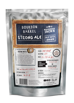 Limited Edition Bourbon Barrel Strong Ale
