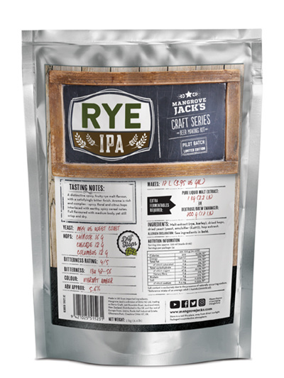 Limited Edition Rye IPA