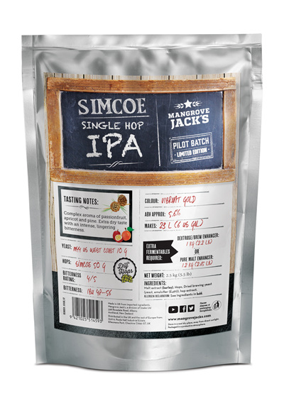 Limited Edition Simcoe Single Hop IPA