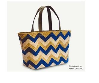 Linda - Blue Tote Bag