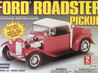 Lindberg 1/24 1934 Ford Roadster Pickup