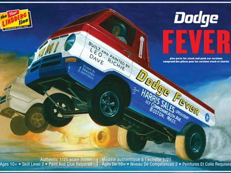 Lindberg 1/25 Dodge Fever Wheel Stander
