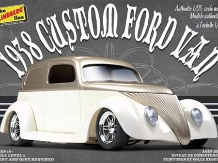 Lindberg 1/24 1938 Custom Ford Van