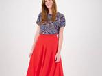 Linen Balmain Skirt