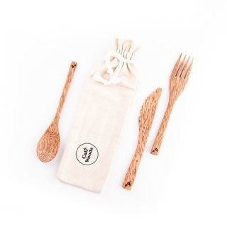 Linen Carry Case for Cutlery & Straws
