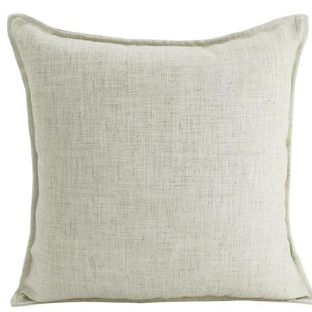 Linen Cushion Beige 55x55cm