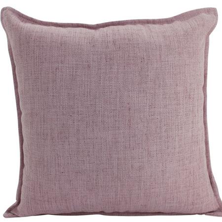 Linen Cushion Blush 55x55cm