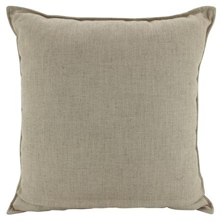 Linen Cushion Latte 55x55cm