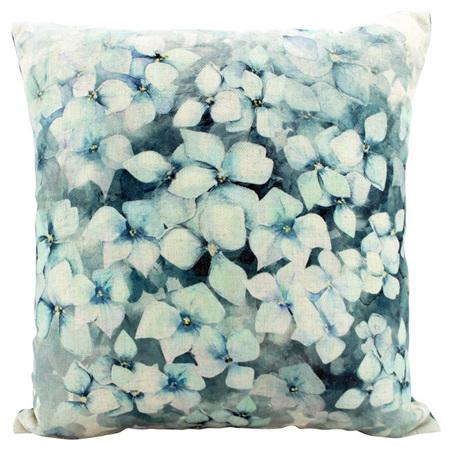 Linen Cushion Petal Rain 50x50cm