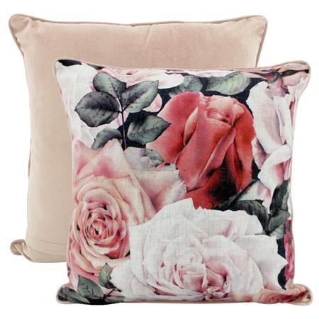 Linen Cushion Rose Garden 50x50cm