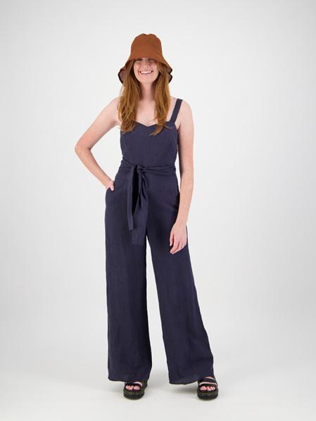 Linen Paddington Jumpsuit