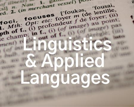 Linguistics & Applied Languages