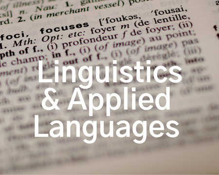Linguistics, Language Teaching & Applied Language Studies