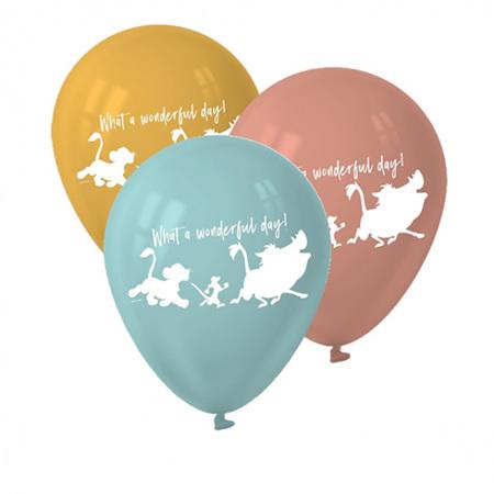 Lion King balloons latex x6