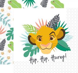 Lion King napkins