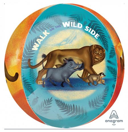 Lion King orbz balloon.