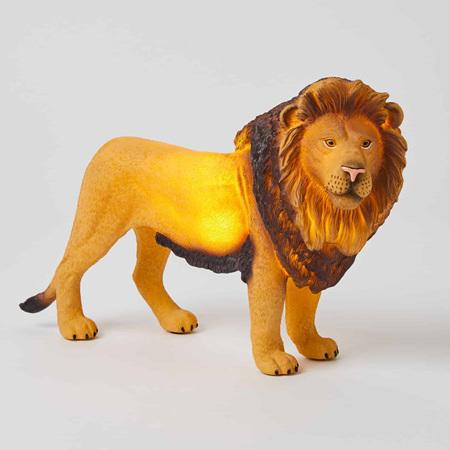 LION SCULPTURED LIGHT (BATTERY+USB)