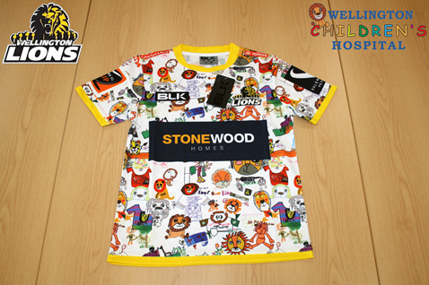 Wellington Lions Charity T-Shirt for Wellington Childrens Hospital