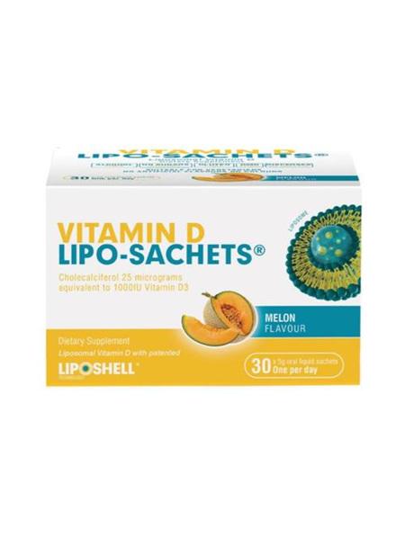 Lipo-Sachets Vit D 30s