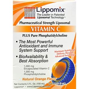 Lippomix Liposomal Vitamin C 1000mg 30 Sachets