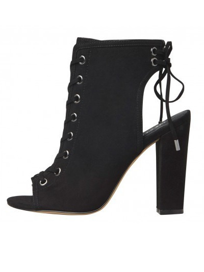 Lipstik Shoes - GLAMED Black