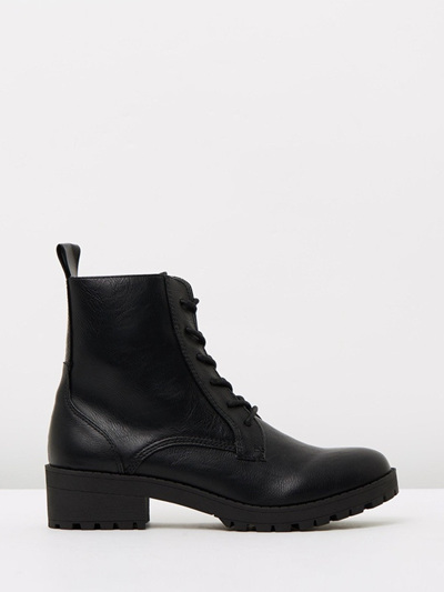 Lipstik Shoes - Hypnotize Black Boot